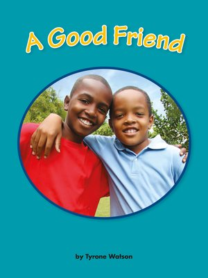 cover image of A Good Friend