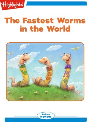 cover image of The Fastest Worms in the World