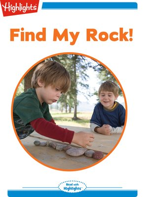 cover image of Find My Rock!