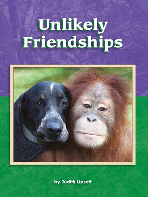 cover image of Unlikely Friendships
