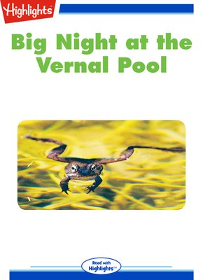 cover image of Big Night at the Vernal Pool