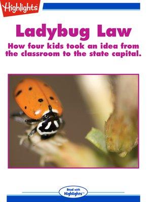 cover image of Ladybug Law