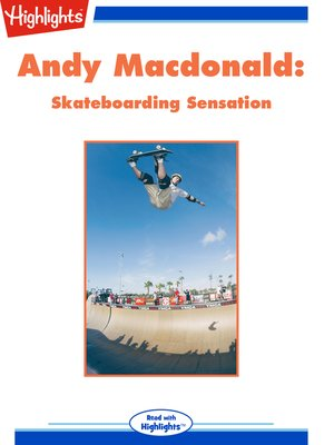 cover image of Andy Macdonald: Skateboarding Sensation