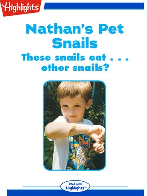 cover image of Nathan's Pet Snails