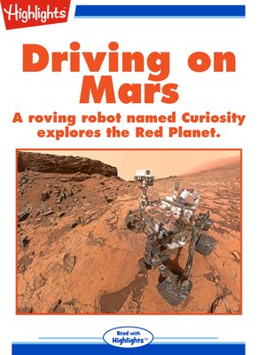 cover image of Driving on Mars