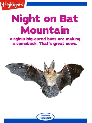 cover image of Night on Bat Mountain