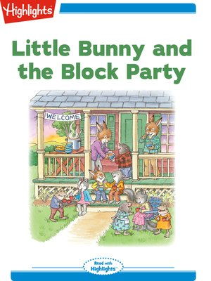 cover image of Little Bunny and the Block Party