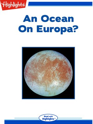cover image of An Ocean on Europa?