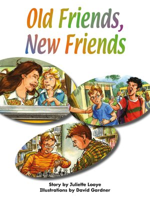 cover image of Old Friends, New Friends