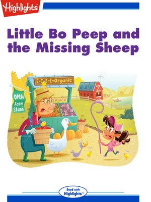 cover image of Little Bo Peep and the Missing Sheep
