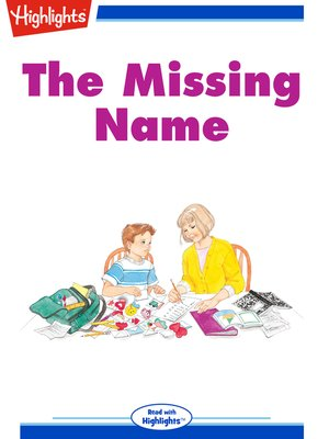cover image of The Missing Name