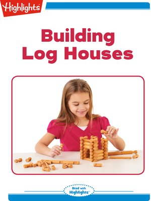 cover image of Building Log Houses