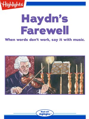 cover image of Haydn's Farewell