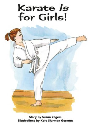 cover image of Karate Is for Girls!