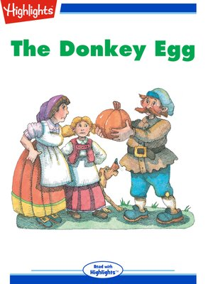 cover image of The Donkey Egg