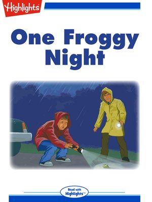 cover image of One Froggy Night