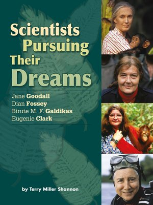 cover image of Scientists Pursuing Their Dreams