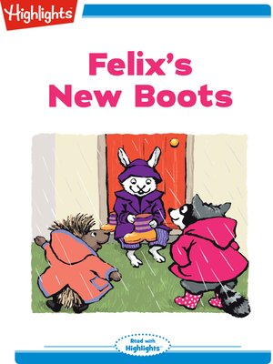 cover image of Felix's New Boots