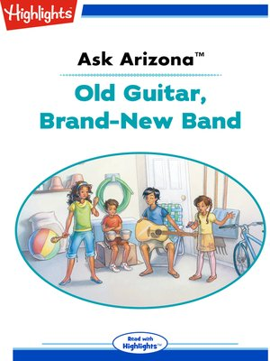 cover image of Ask Arizona Old Guitar, Brand-New Band