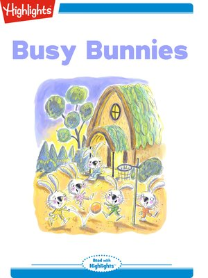 cover image of Busy Bunnies