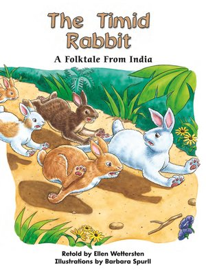 cover image of The Timid Rabbit: A Folktale From India