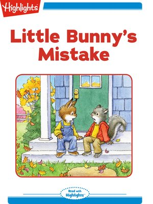 cover image of Little Bunny's Mistake