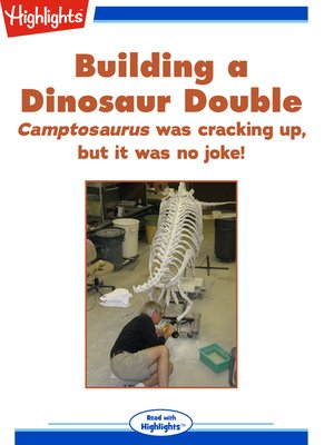 cover image of Building a Dinosaur Double