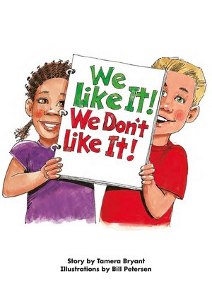 cover image of We Like It! We Don't Like It!