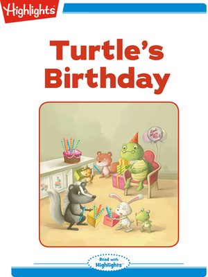 cover image of Turtle's Birthday
