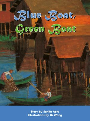 cover image of Blue Boat, Green Boat