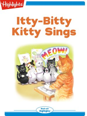 cover image of Itty-Bitty Kitty Sings