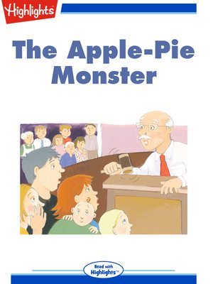 cover image of The Apple-Pie Monster