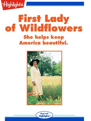 cover image of First Lady of Wildflowers