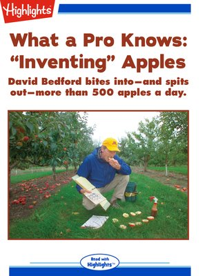 """cover image of What a Pro Knows: """"Inventing Apples"""""""