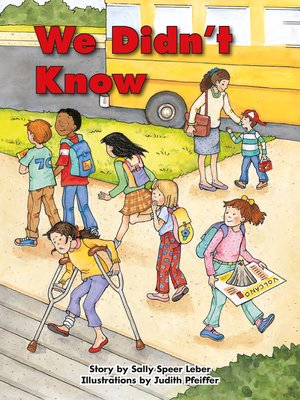 cover image of We Didn't Know
