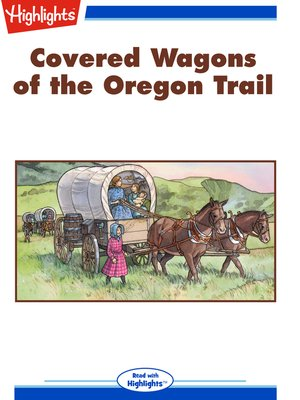 cover image of Covered Wagons of the Oregon Trail