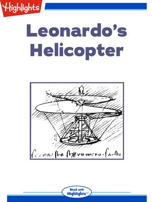 cover image of Leonardo's Helicopter