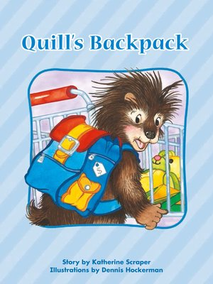 cover image of Quill's Backpack
