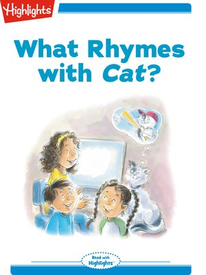 cover image of What Rhymes with Cat