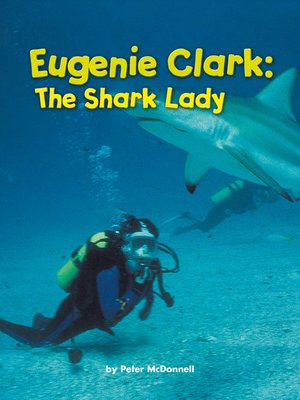 cover image of Eugenie Clark: The Shark Lady