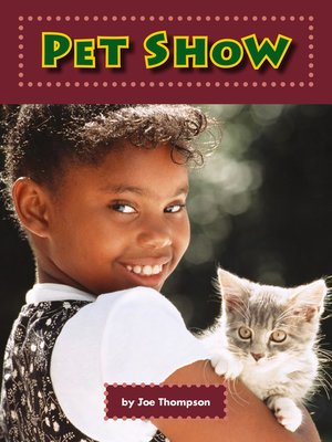 cover image of Pet Show
