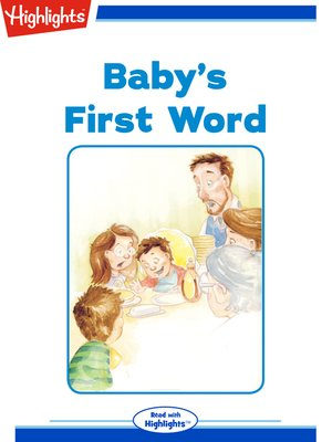 cover image of Baby's First Word
