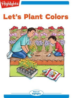 cover image of Let's Plant Colors