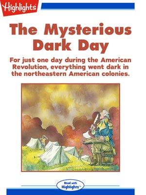 cover image of The Mysterious Dark Day