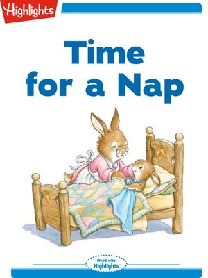 cover image of Time for a Nap