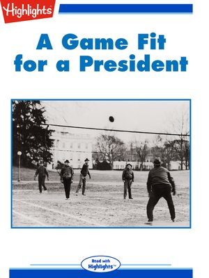 cover image of A Game Fit for a President