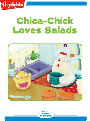 cover image of Chica Chick Loves Salads