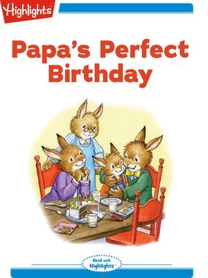 cover image of Papa's Perfect Birthday