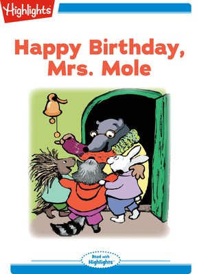 cover image of Happy Birthday Mrs. Mole