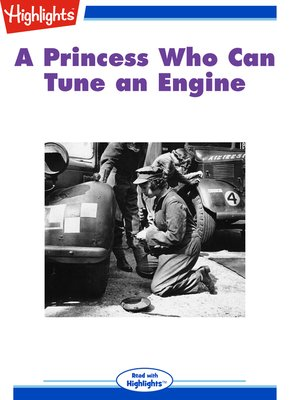 cover image of A Princess Who Can Tune an Engine